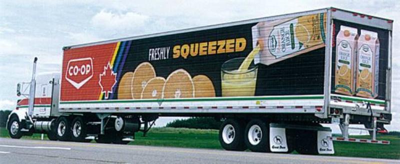 Cowan Imaging Saskatoon Truck Vehicle Wrap