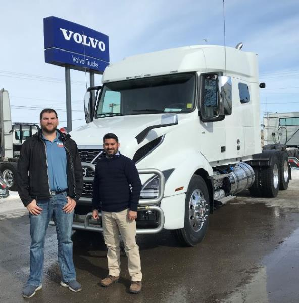 CONGRATS Vic Singh on your 2020 VOLVO VNL