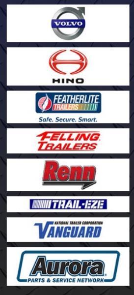 Volvo, Hino, Featherlite, Felling, Renn, T - EZE, Vanguard, Aurora