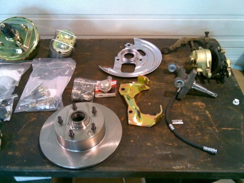 Disc Brake Conversion with complete kit.