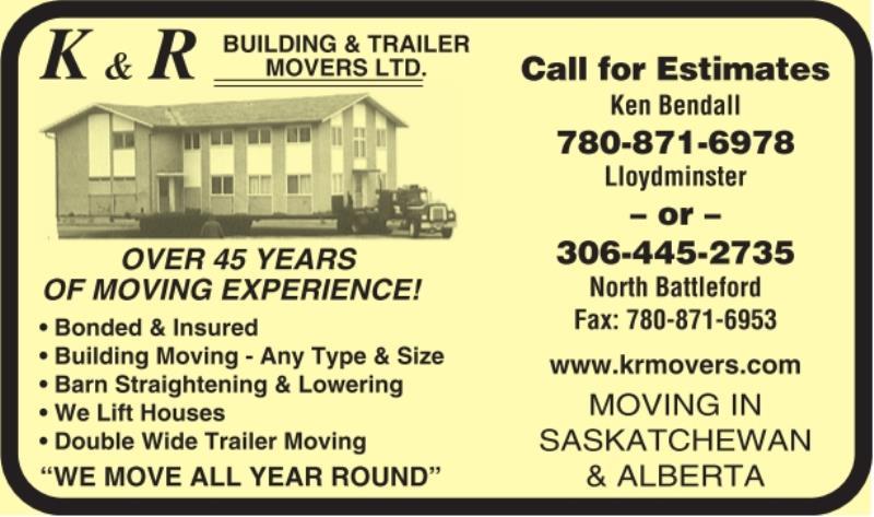 K & R Building & Trailer Movers Ltd