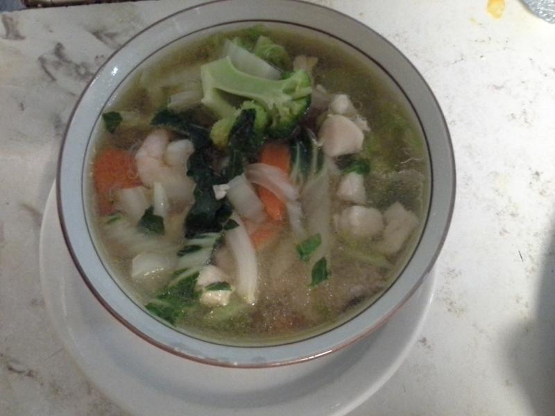 Uptown Cafe - Wor Wonton Soup