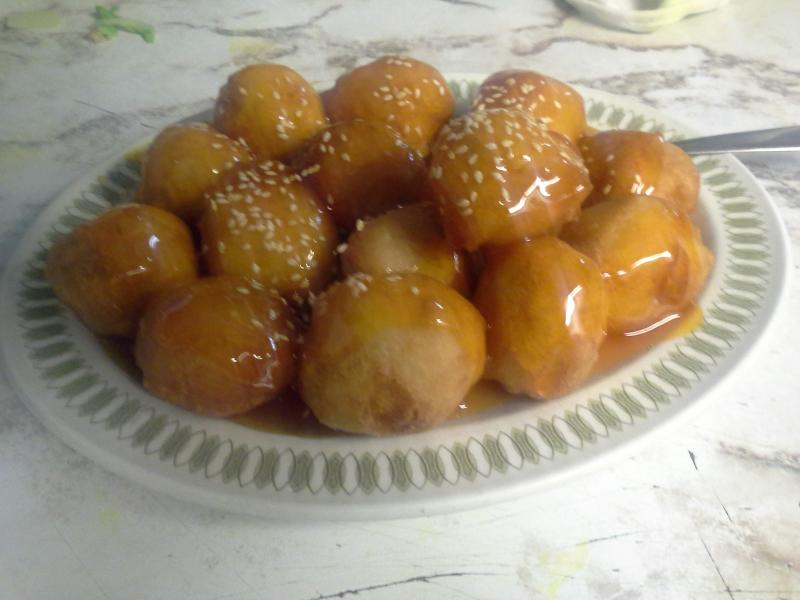 Uptown Cafe - Sweet and Sour Chicken Balls