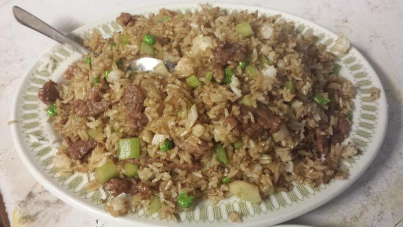 Uptown Cafe - Beef Fried Rice