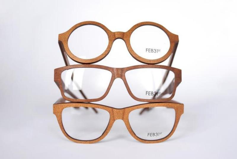 Optical Image Swift Current FEB31st designer glasses wooden frames optometrist