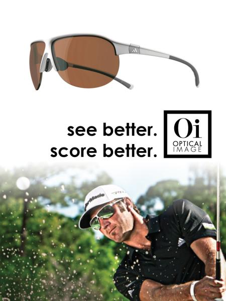 Optical Image Swift Current see better score better designer golf sunglasses optometrist