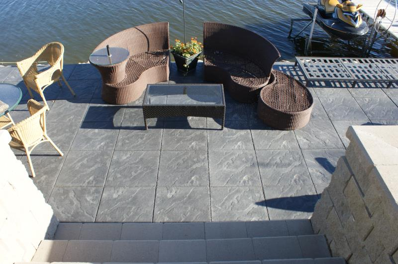 Cindercrete patio ideas 1
