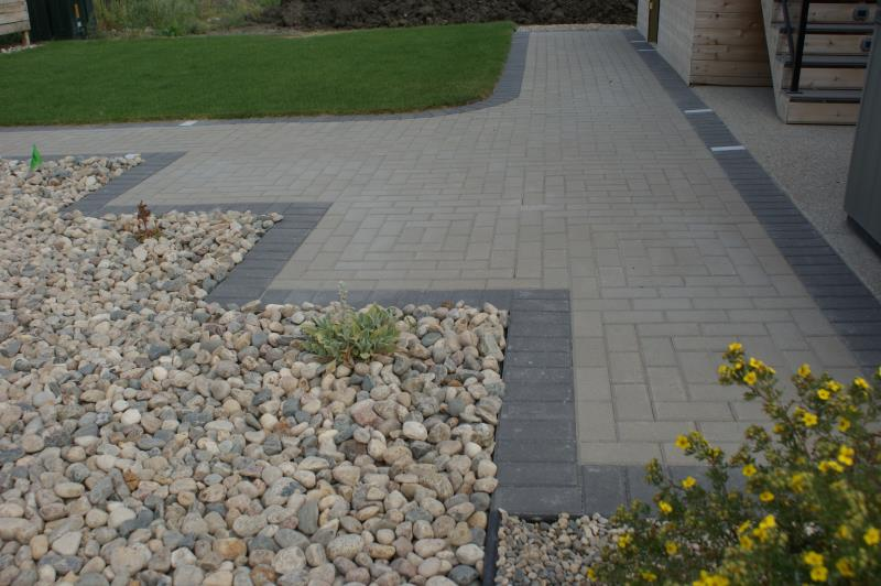 Cindercrete products brick path