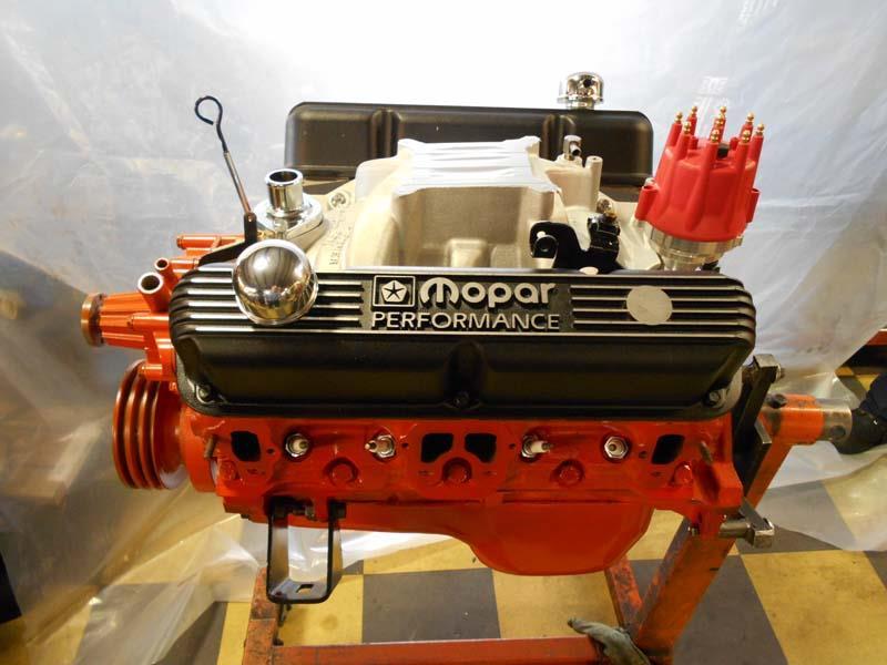 Red Engine Rebuild