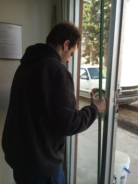 Commercial glass replacement