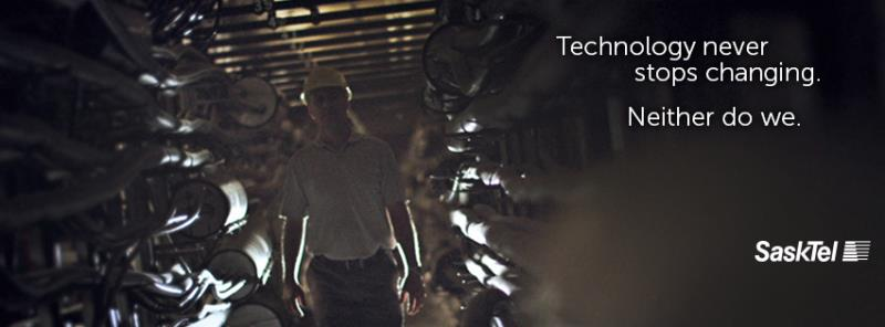 SaskTel - Technology Never Stops Changing. Neither Do We.