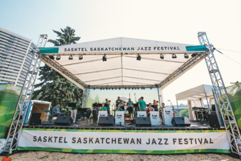 SaskTel - Saskatchewan Jazz Festival