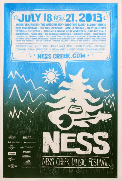 Ness Creek Poster
