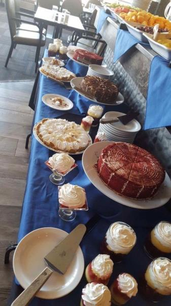 desserts for our Sunday Brunch