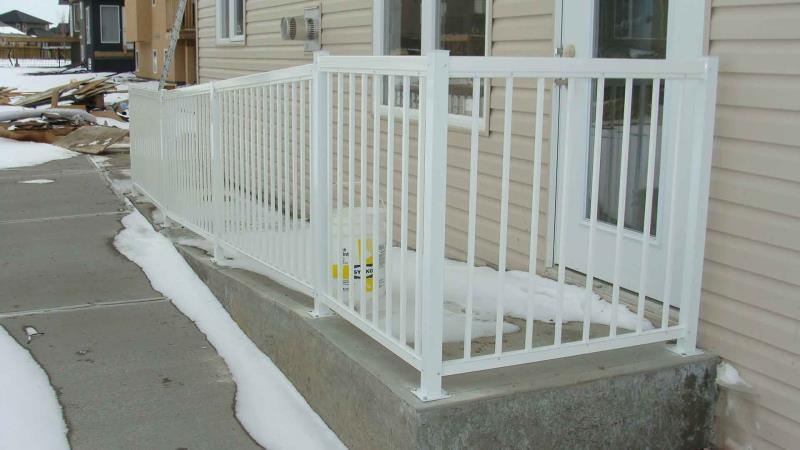 Picket Rails For Ramps