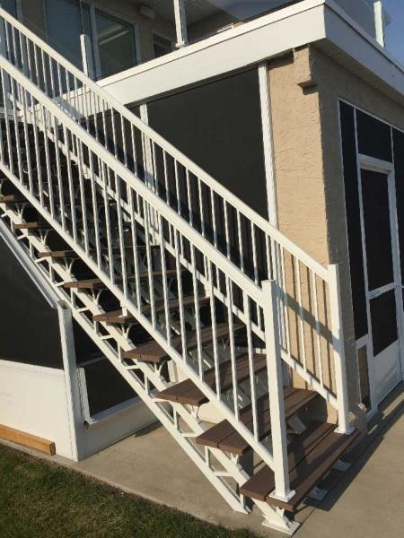 Simple Step Stair Stringer System