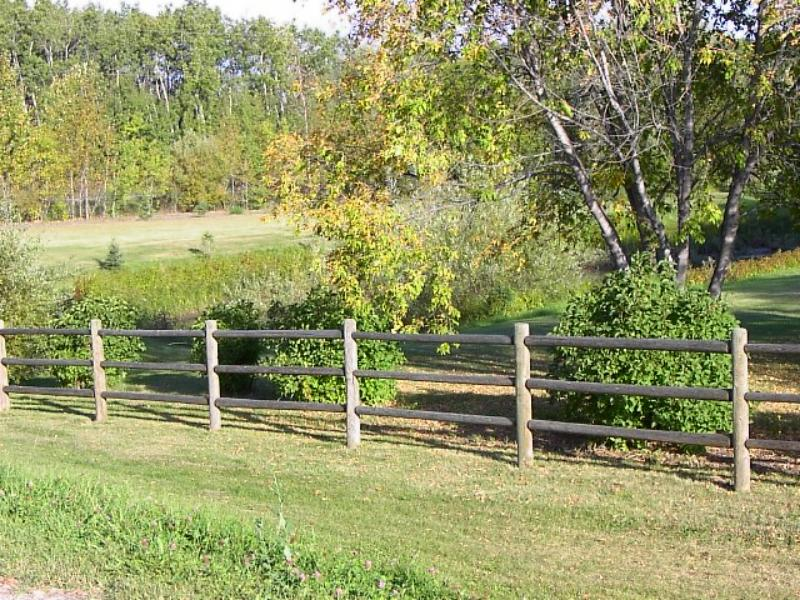 Madsen Fence Ltd - Post and Rails