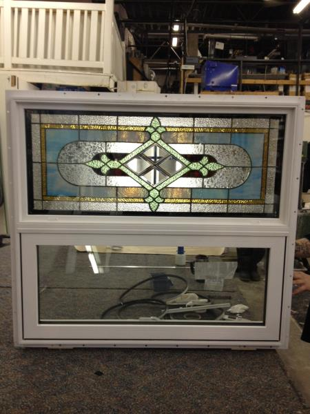 Frontier Vinyl & Glass - Custom-designed sandblasting, stained glass construction design & repair