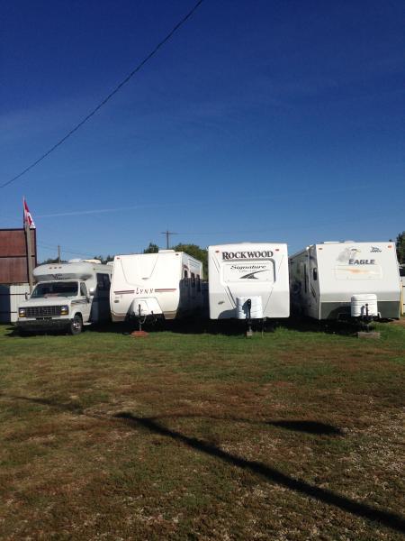Alcol Enterprises & Safe T Storage RV vehicle secure storage compound