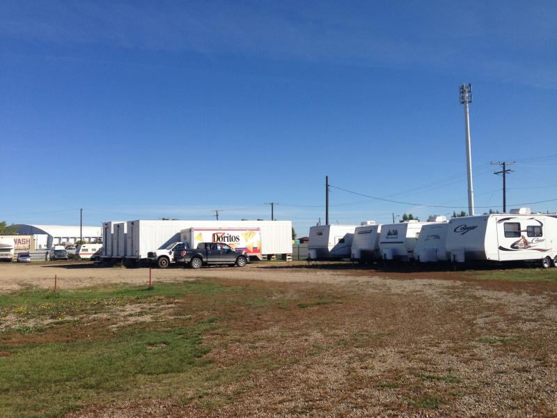 Alcol Enterprises & Safe T Storage trailer and RV storage
