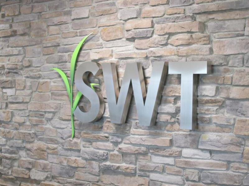 SWT Metal Sign