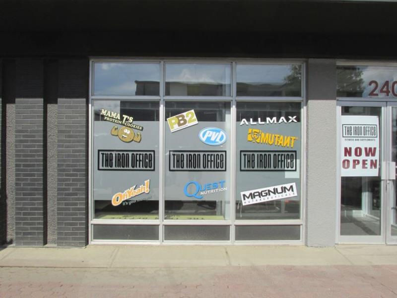 Window Signage and Decals