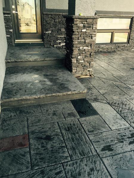 Stone Temple Decorative Concrete