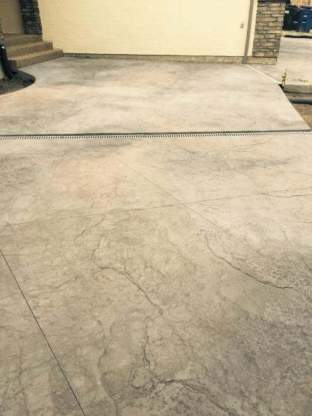 Stone Temple Decorative Concrete