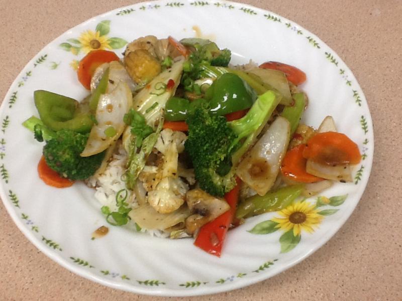 Asian Le - Vegetable Stir Fry
