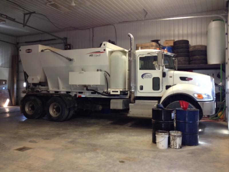 Highmark Foundations Ltd - Concrete Truck