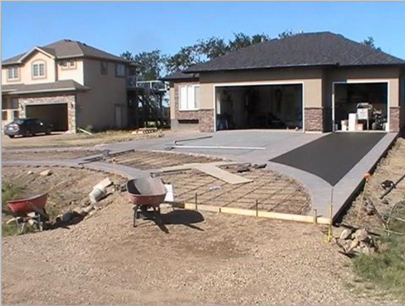 McTavish Concrete - Roundout Driveway