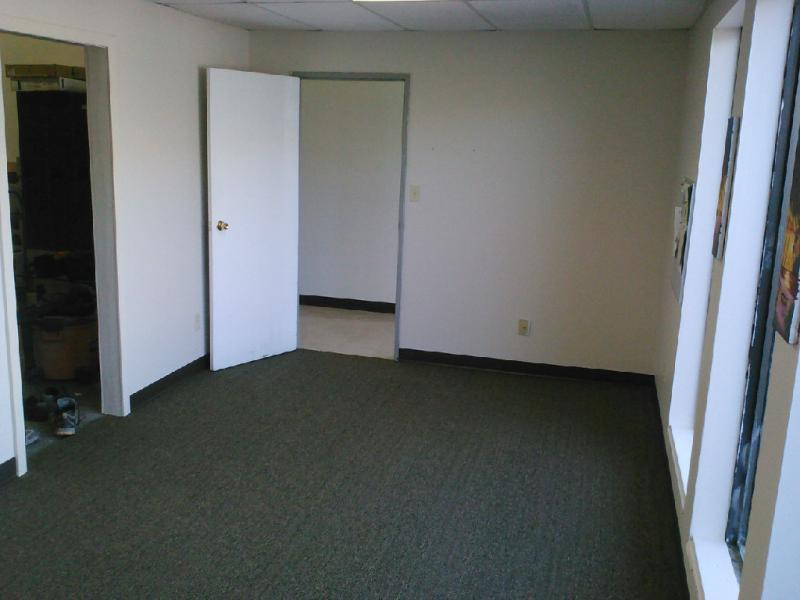 Before: Open office space