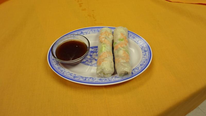 Viet Trung Garden Shrimp and Pork Freshrolls
