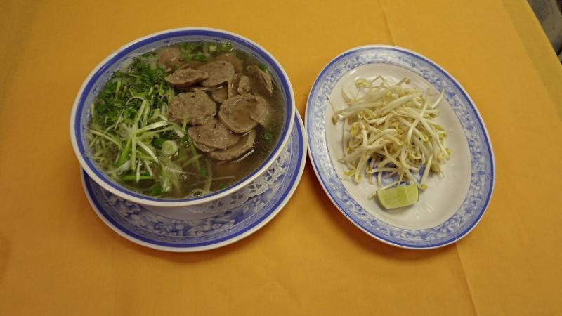 Viet Trung Garden Beef Ball Noodle Soup