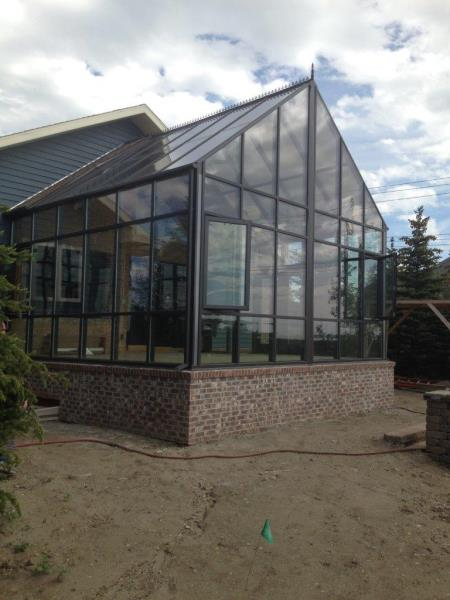 Glass Sunroom