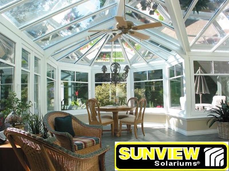 Glass Sunroom Conservatory