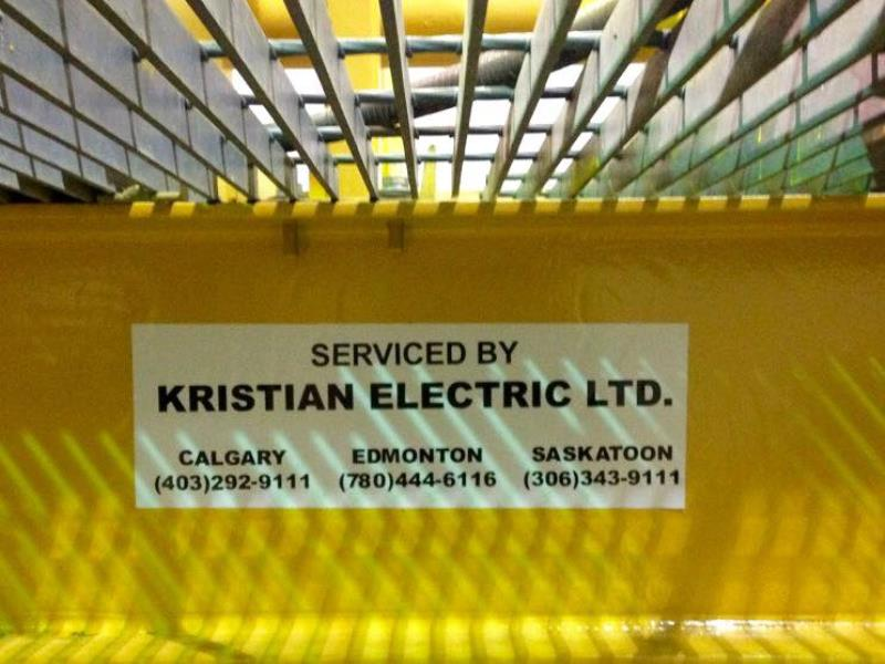 Kristian Electric Ltd provides welding for Saskatoon and area