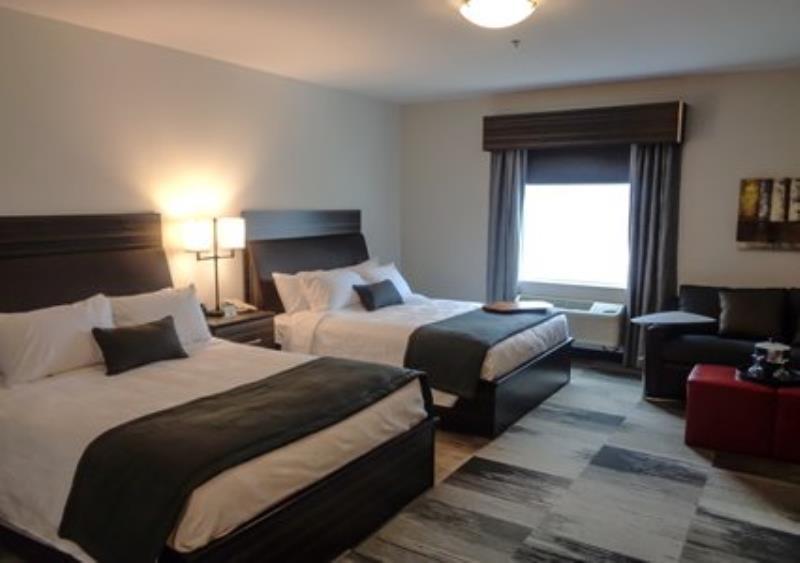 MainStay Suites Aerogreen Saskatoon two queen room